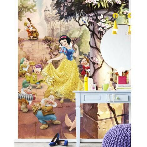 Papier peint Blanche Neige & les 7 nains 184X254 CM