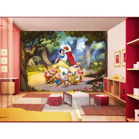 Papier peint Blanche Neige Princesse Disney 360X255 CM