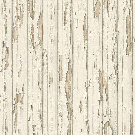 Papier peint Bois AS Création Dekora Natur 6 95883-1 BRICOFLOR