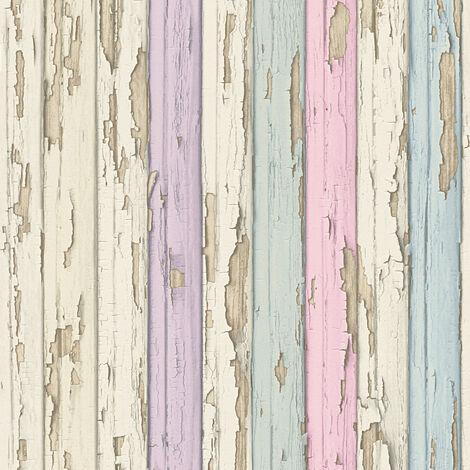 Papier peint Bois AS Création Dekora Natur 6 95883-2 BRICOFLOR