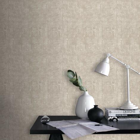 Papier Peint Bois Textur taupe 1005 x 52cm