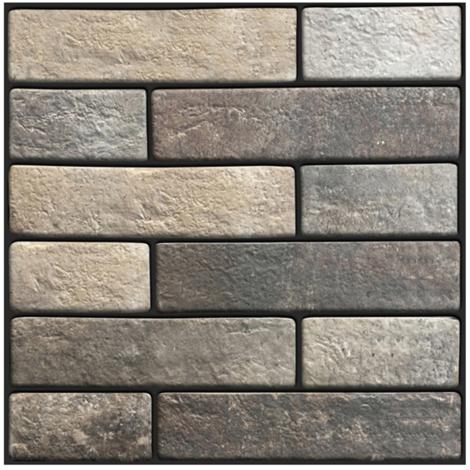 Papier Peint Brique, Auto-Adhesif, Amovible, 30 * 30Cm, 1Pc