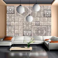 Papier peint - Carreaux de pierre 400x280