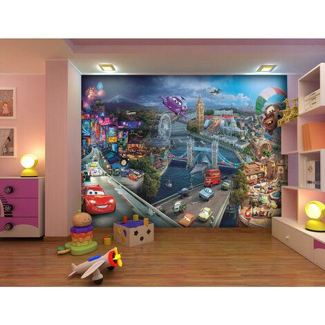 Papier peint Cars World Disney 368X254 CM
