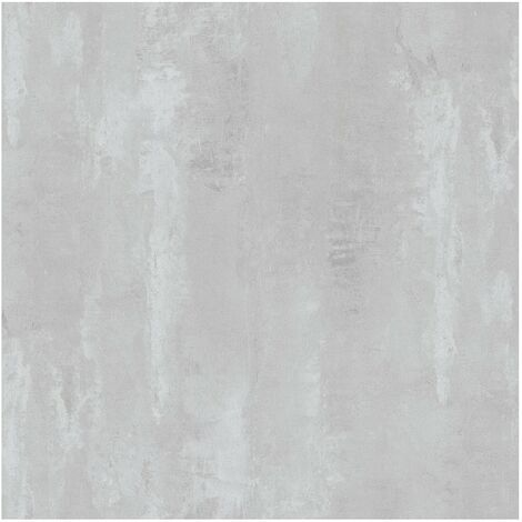 Papier peint effet béton ciré | Papier peint style industriel intissé | Papier peint gris moyen | Papier peint moderne cuisine 374122 - 10,05 x 0,53 m