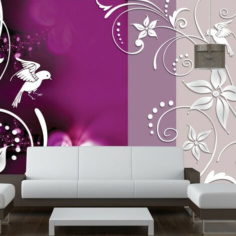 Papier peint - Floral fantasy 100x70