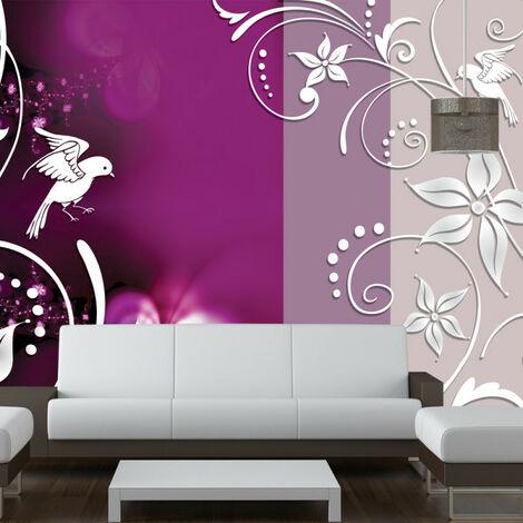 Papier peint - Floral fantasy 200x140