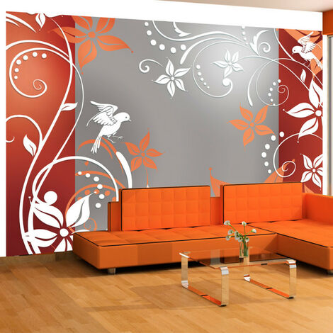 Papier peint - Floral fantasy II 350x245