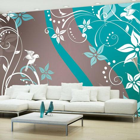 Papier peint - Floral fantasy III 100x70