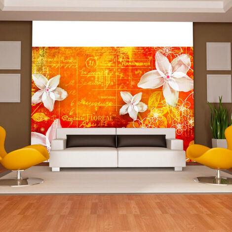 Papier peint - Floral notes II 150x105