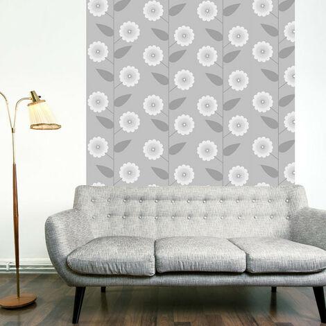 Papier peint - Floral Pattern 50x1000