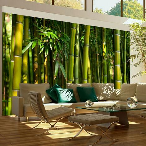 Papier peint - Forêt de bambous asiatique 450x270
