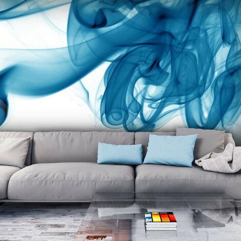 Papier peint - Fumée bleue 200x154
