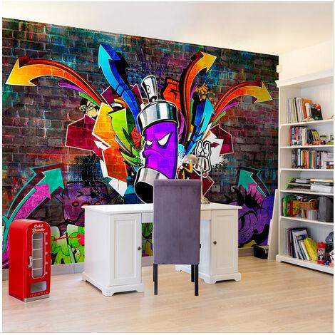 Papier peint - Graffiti: Colourful attack 350x245