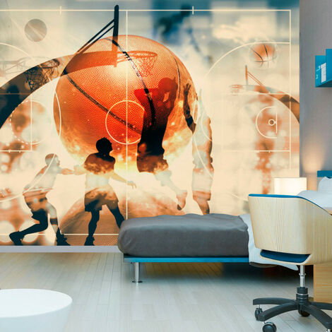 Papier peint - I love basketball! 200x140