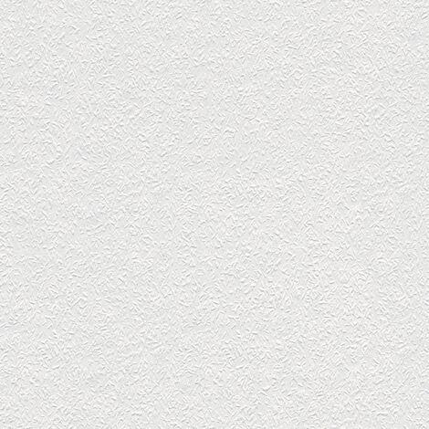 Papier peint intissé 141514 Meistervlies 2020 - Papier peint à peindre Blanc - 10,05 x 0,53 m