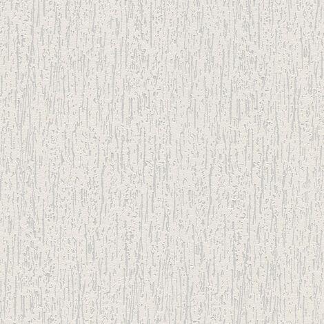 Papier peint intissé 168917 Meistervlies 2020 - Papier peint à peindre Blanc - 10,05 x 0,53 m