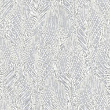 Papier peint intissé 250810 Meistervlies 2020 - Papier peint à peindre Blanc - 10,05 x 0,53 m