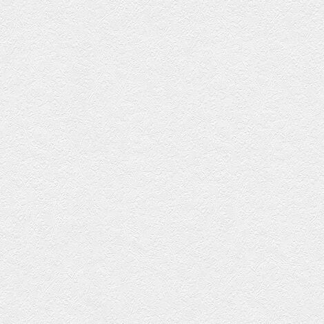 Papier peint intissé 316011 Meistervlies 2020 - Papier peint à peindre Blanc - 10,05 x 0,53 m