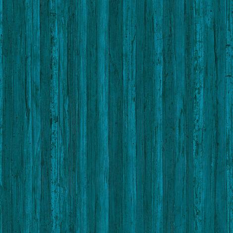 Papier peint intissé 327145 Borneo - Papier peint motif Bleu - 10,05 x 0,53 m