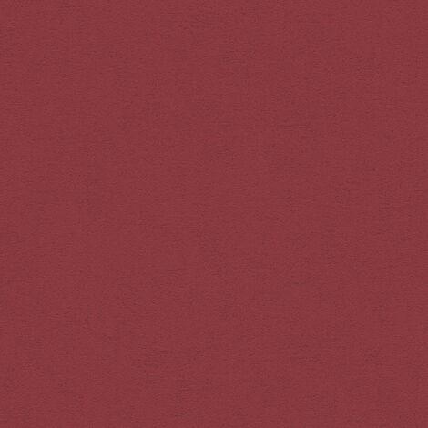 Papier peint intissé 328358 Moments - Papier peint uni Rouge - 10,05 x 0,53 m