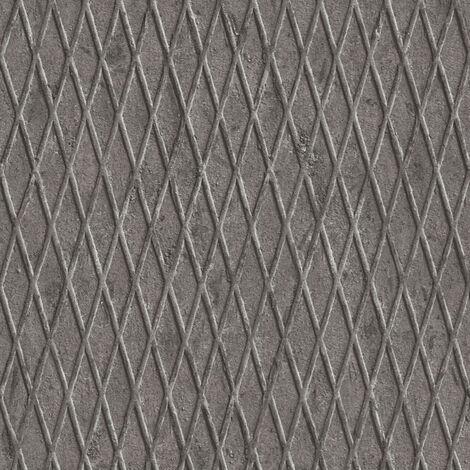 Papier peint intissé 343461 Happy Spring - Papier peint motif Gris Noir/Anthracite Blanc - 10,05 x 0,53 m