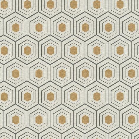 Papier peint intissé 358991 Four Seasons - Papier peint motif Beige/Crème Gris Noir/Anthracite - 10,05 x 0,53 m