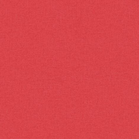 Papier peint intissé 363965 California - Papier peint uni Rouge - 10,05 x 0,53 m