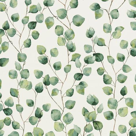 Papier peint intissé 370441 Greenery - Papier peint palmier Vert Blanc - 10,05 x 0,53 m
