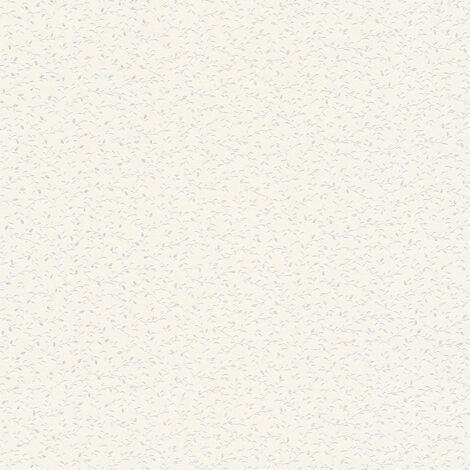Papier peint intissé 372651 Blooming - Papier peint palmier Argent Blanc - 10,05 x 0,53 m