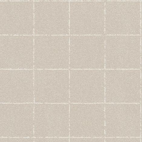Papier peint intissé 375514 New Elegance - Papier peint carreaux de ciment & carrelage Beige/Crème - 10,05 x 0,53 m