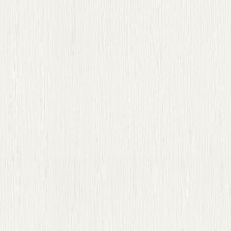 Papier peint intissé 785527 Authentic Walls 2 - Papier peint uni Gris Blanc - 10,05 x 0,53 m