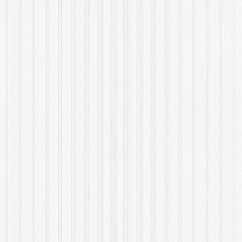 Papier peint intissé 951113 Meistervlies 2020 - Papier peint à peindre Blanc - 10,05 x 0,53 m