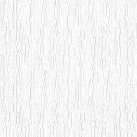 Papier peint intissé 951311 Meistervlies 2020 - Papier peint à peindre Blanc - 10,05 x 0,53 m