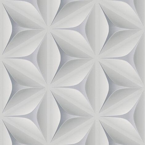 Papier peint intissé 960421 Move Your Wall - Papier peint moderne Gris - 10,05 x 0,53 m