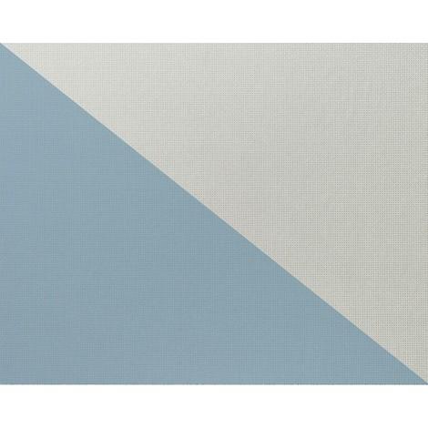 Papier peint intissé blanc à peindre texturé EDEM 80375BR60 décorative aspect canevas double 106 cm - 26,50 m2