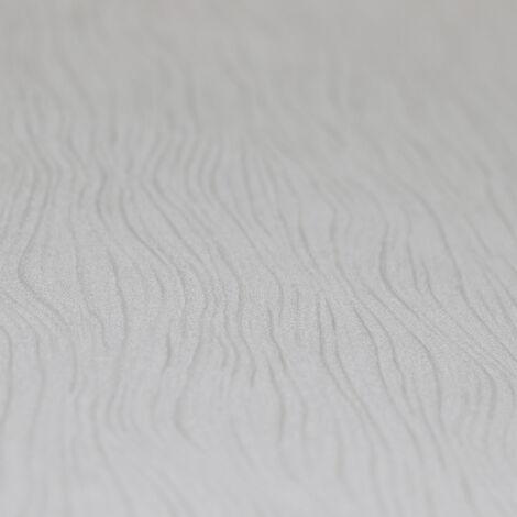 Papier Peint Intissé Blanc Coleur Unie - Idéalement Pour la Chambre à Coucher - Colani Visions - Fabriqué en Allemagne - 10,05 x 0,70m - 53355