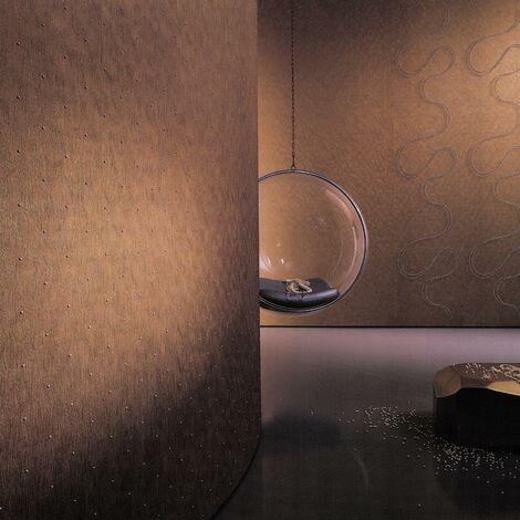 Papier Peint Intissé Blanc Points - Strasse, Pierre - Idéalement Pour la Chambre à Coucher - Colani Visions - Fabriqué en Allemagne - 10,05 x 0,70m - 53373