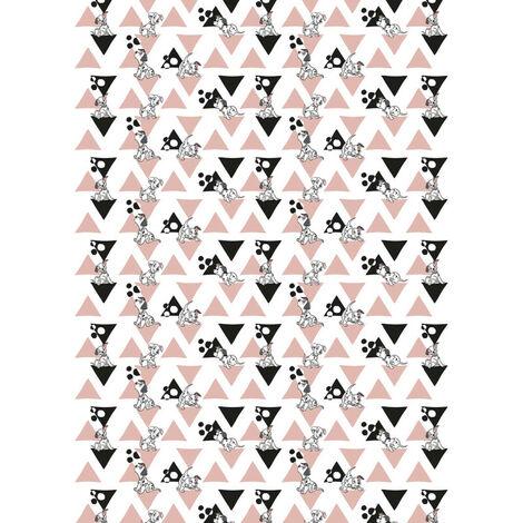 Papier peint intissé Chambre bebe Les 101 Dalmatiens Disney 200 X 280 CM