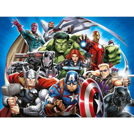 Papier peint intissé - Disney- La bande Marvel Avengers 360 cm x 270 cm