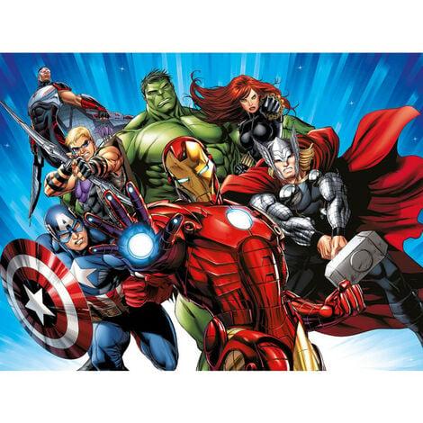 Papier Peint Intissé - Disney Marvel Avengers 360 cm x 270 cm