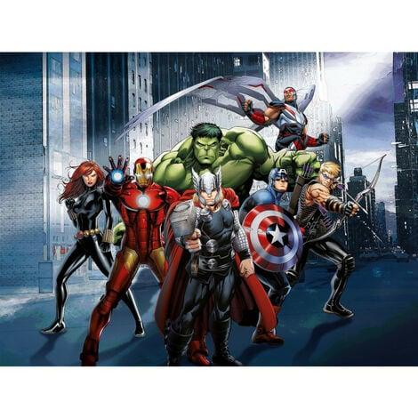 Papier peint intissé - Disney Marvel Avengers au combat - 360 cm x 270 cm