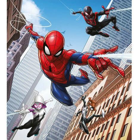 Papier peint intissé Disney Marvel Avengers -Spider-man 3 personnages qui volent 180X202 CM