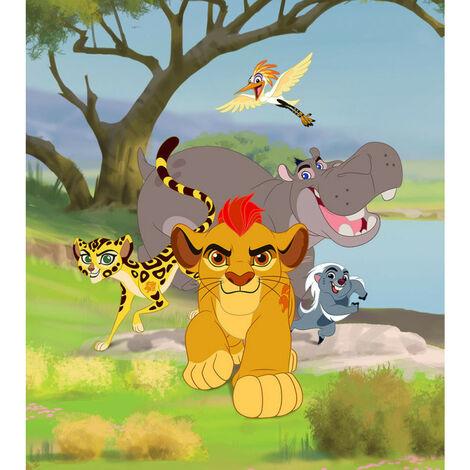 Papier peint intisse La garde du Roi lion Disney 180X202 CM