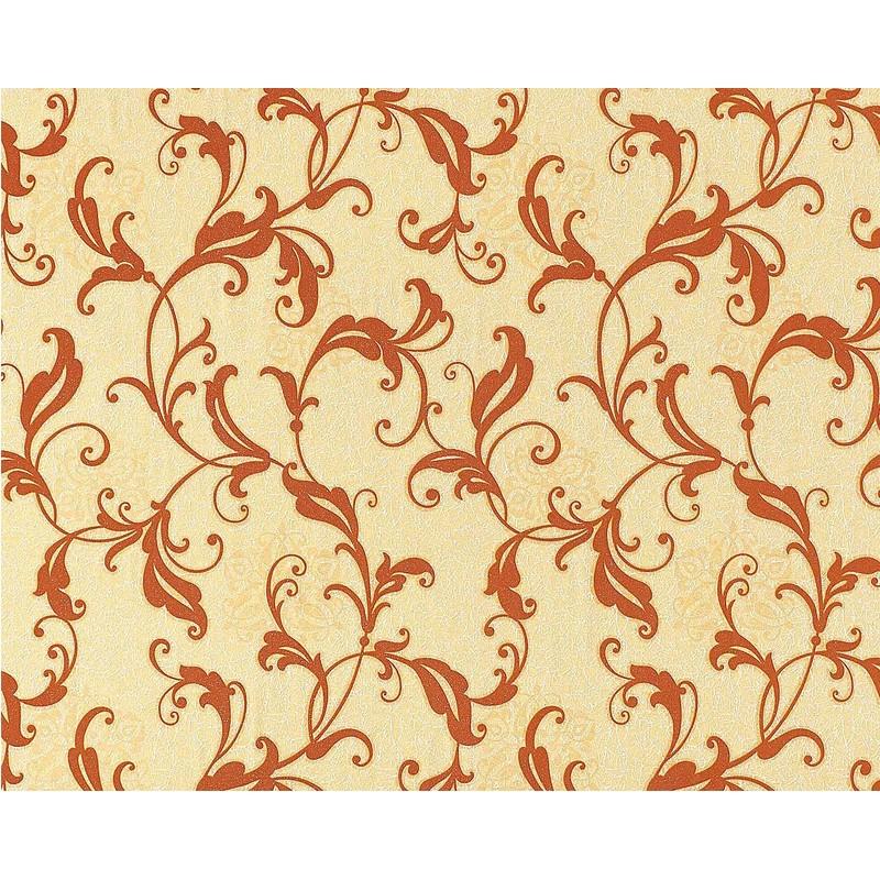 Papier Peint Intissé Motif Floral Fleurs Style Antique Edem 600 91