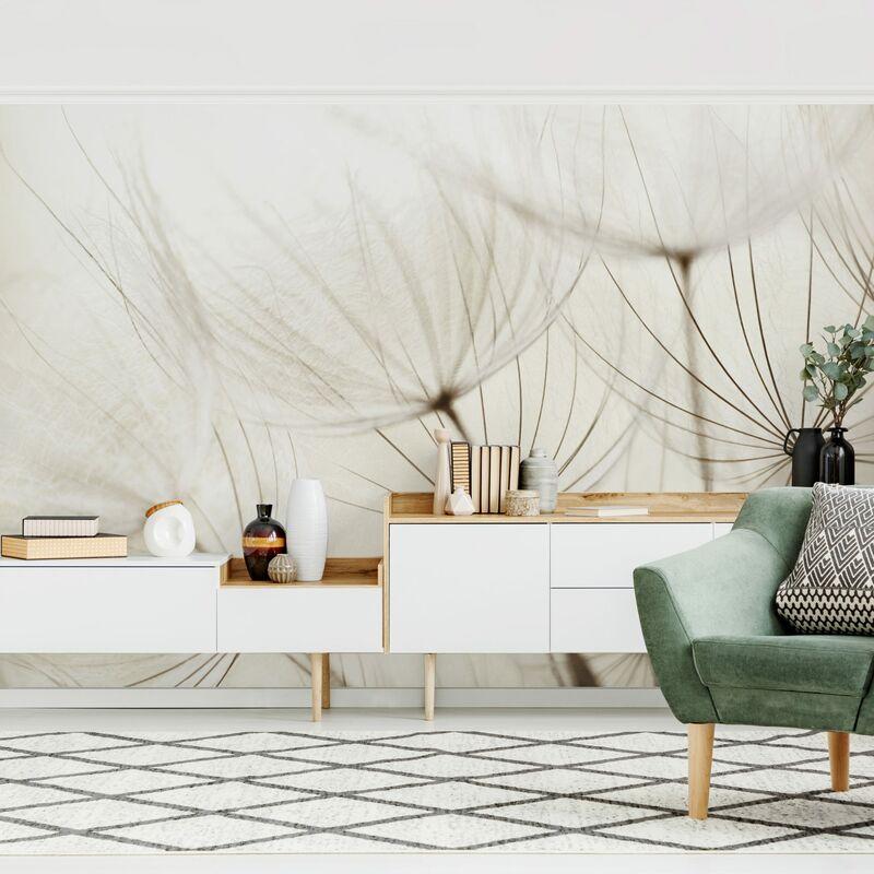 Herbes papier peint Papier peint La Fresque Photo Wallpaper Mural cascade en colorés DSCH