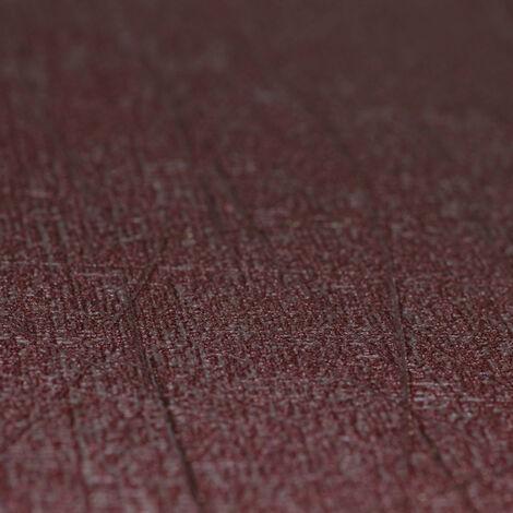 Papier Peint Intissé Rouge Coleur Unie - Fissurée - Idéalement Pour la Chambre à Coucher - Colani Visions - Fabriqué en Allemagne - 10,05 x 0,70m - 53309