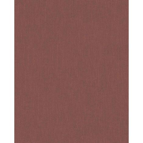 Papier Peint Intissé Rouge Coleur Unie - Motif, Moderne - Pour Chambre à Coucher, Salon ou Cuisine - Fabriqué en Allemagne - 10,05 x 0,53m - 31727