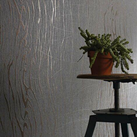 Papier Peint Intissé Rouge Structure - Fissurée - Idéalement Pour la Chambre à Coucher - Colani Visions - Fabriqué en Allemagne - 10,05 x 0,70m - 53333