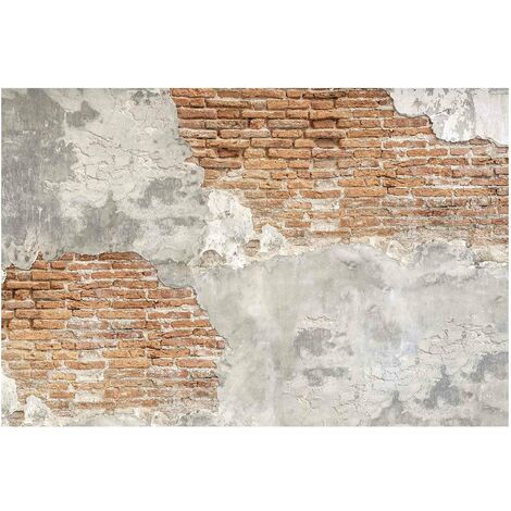 Papier peint intissé - Shabby brick wall - Mural Large
